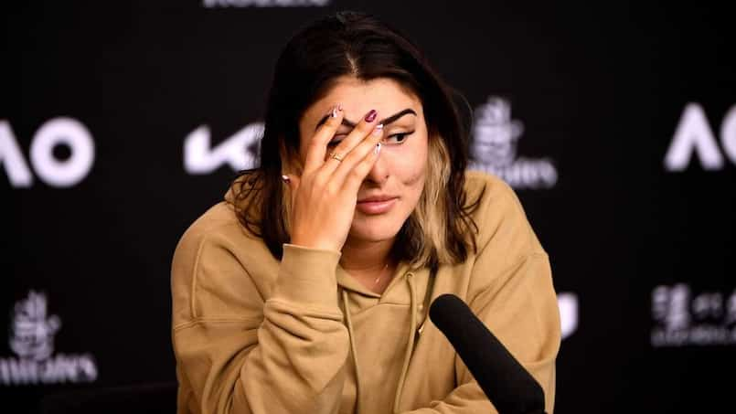 Bianca Andreescu dans le doute