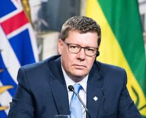 Le premier ministre de la Saskatchewan, Scott Moe