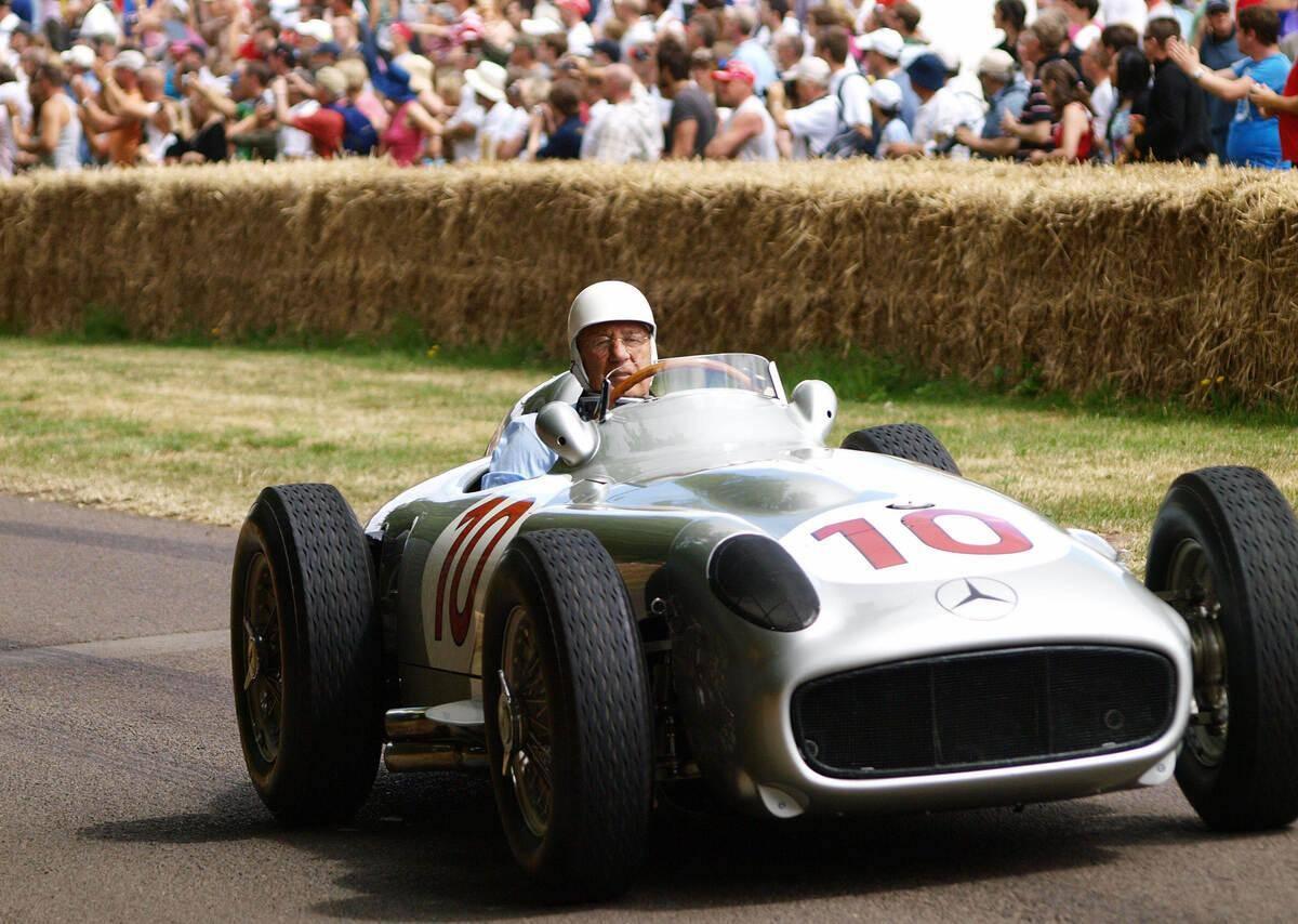 L'ancien pilote de Formule 1 Stirling Moss est mort - F1 - Disparition
