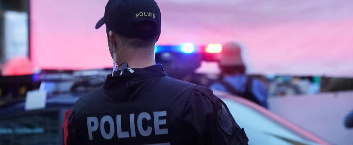 Montréal: cinq piétons happés à leur sortie du bureau de vote
