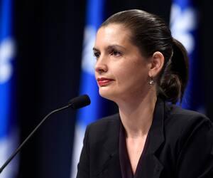 La ministre responsable de la Capitale-Nationale, Geneviève Guilbault