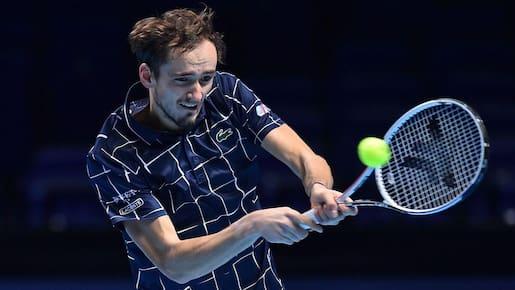 Masters de tennis: Medvedev en demie