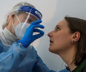 GERMANY-HEALTH-VIRUS-TEST