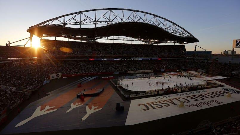 Classique Héritage : un match Leafs-Sabres en plein air