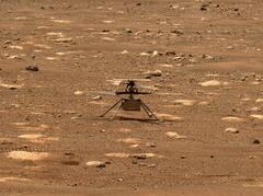 Mars: la NASA retarde le vol de l'hélicoptère Ingenuity en raison d'un problème technique