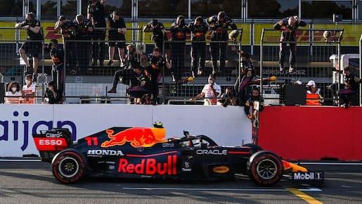 F1: spectaculaire victoire de Sergio Perez