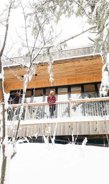 Image principale de l'article 27 minichalets à louer au Québec cet hiver