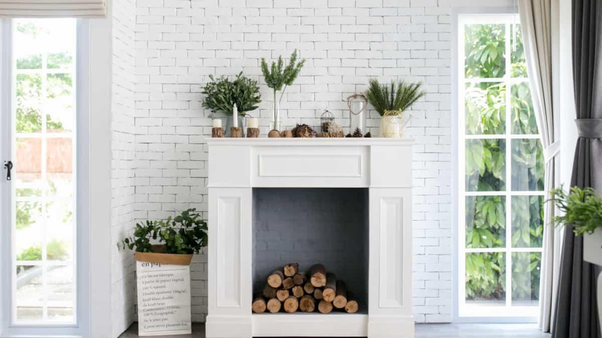 Deco Murale Au Dessus Tele 10 façons originales de décorer sa cheminée   salut bonjour