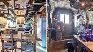Image principale de l'article Cette maison a des trains au plafond et une grotte