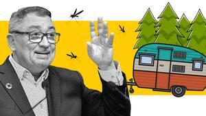 Image principale de l'article Le Dr Horacio Arruda a hâte de faire du camping