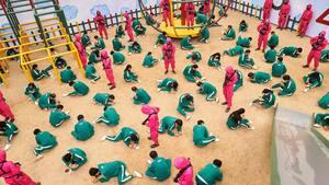 Image principale de l'article Une soirée à thématique Squid Game à Montréal