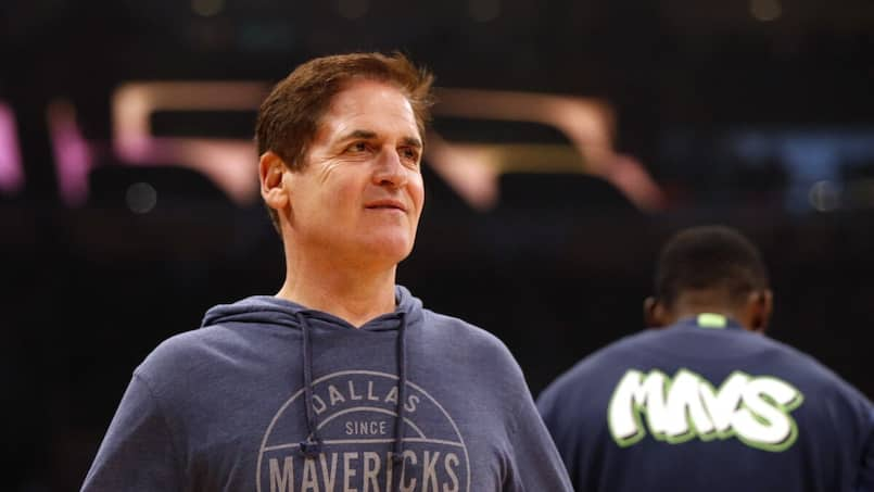 Le propriétaire des Mavericks en beau «joual vert»