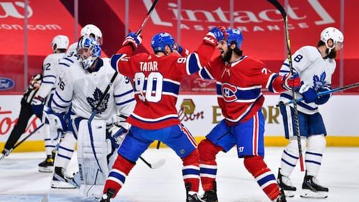 Maple Leafs vs Canadiens