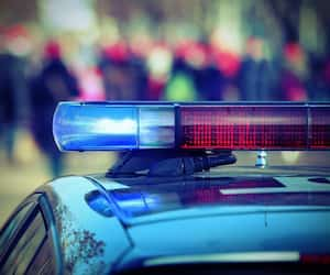 sirène police gyrophares bloc