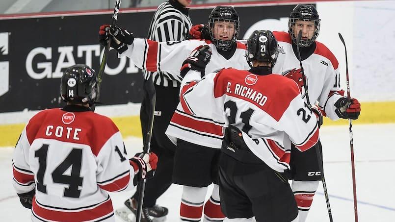 La COVID-19 freine la Ligue de hockey midget AAA