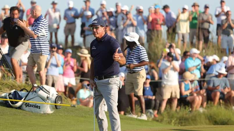 Phil Mickelson marque l'histoire