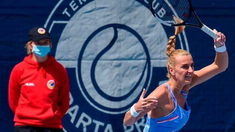 Tennis: un tournoi «vraiment bizarre» à Prague