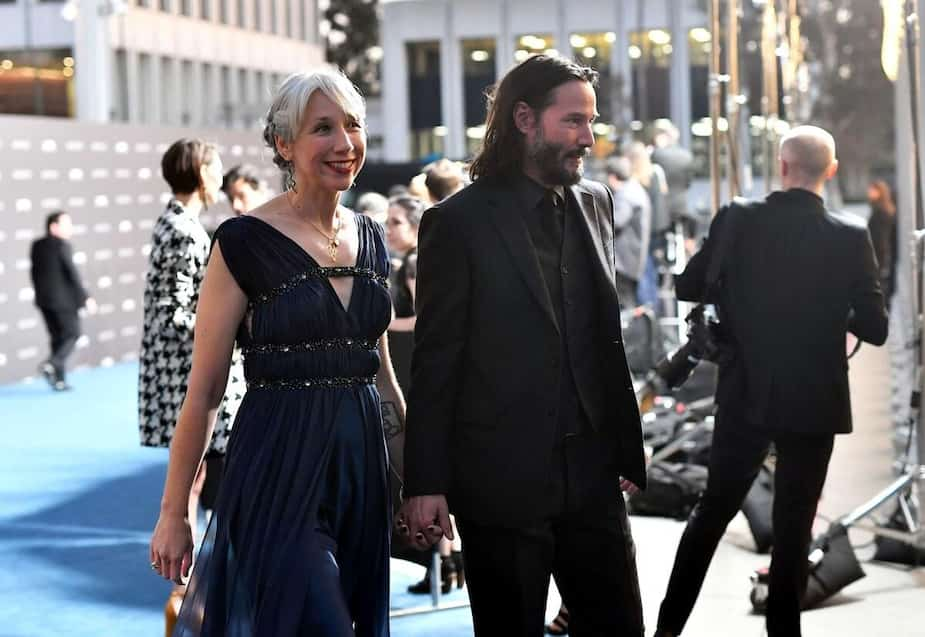 Alexandra Grant et Keanu Reeves