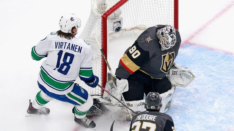 Jake Virtanen et les Canucks règlent le dossier