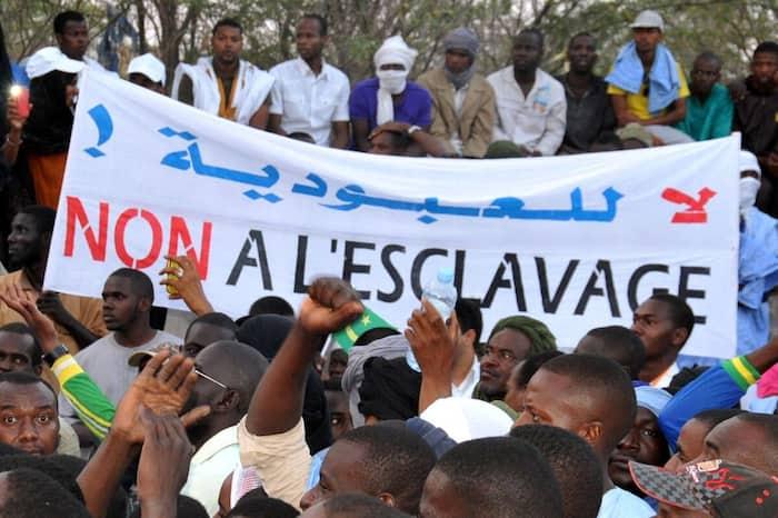 Manifestation à Nouakchott en 2015