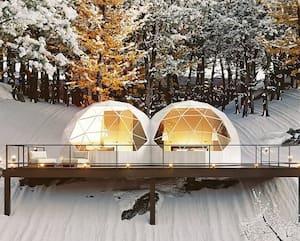 Image principale de l'article Un «double dôme» pour un séjour de luxe