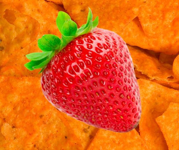 Image principale de l'article Doritos l'échappe en lançant des chips aux fraises