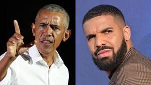 Image principale de l'article Obama donne le feu vert à Drake pour le jouer