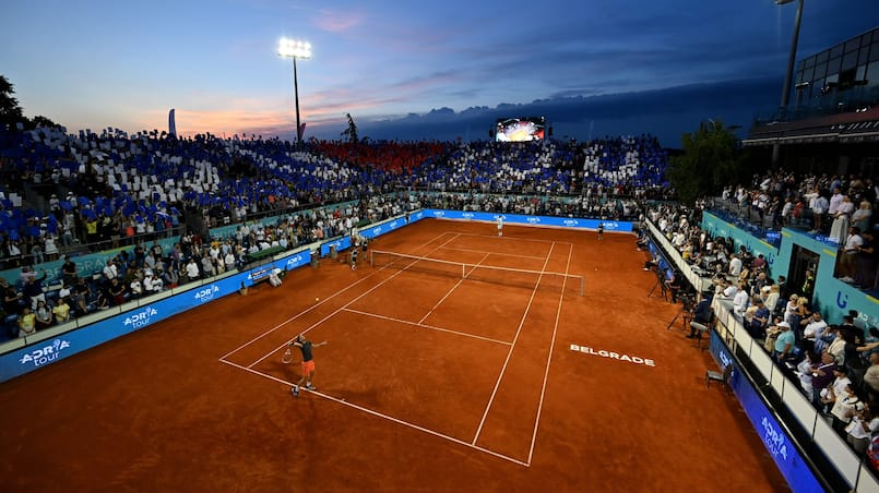 TENNIS-SRB-ADRIA-TOUR-EXHIBITION