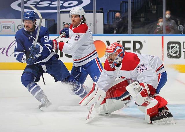 Carey Price s'est dressé telle une muraille devant les charges soutenues des Maple Leafs jeudi soir.