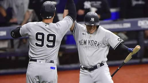 Un balayage en vue pour les Yankees?