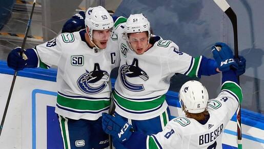 Les champions en titre s'écroulent face aux Canucks
