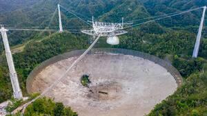 Image principale de l'article Le télescope géant d'Arecibo s'est effondré