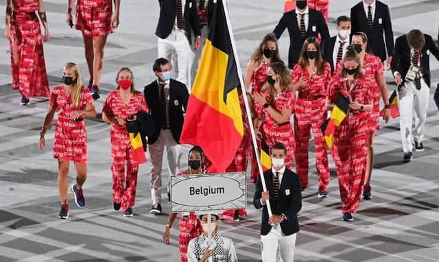 La Belgique fait son entrée aux JO de Tokyo.