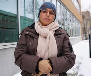 La vice-présidente duRegroupement des infirmières françaises au Québec (RIFQ), Nagia Idel Mehdaoui