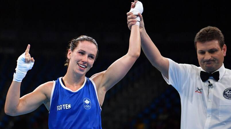 Cinq boxeurs canadiens aux Jeux, dont Mandy Bujold