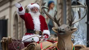 Image principale de l'article Le défilé du père Noël est annulé