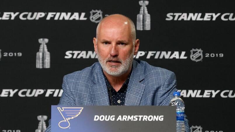 Olympiques: Doug Armstrong DG d'Équipe Canada