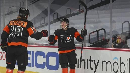 Konecny marque trois fois, les Flyers défont (encore) les Penguins
