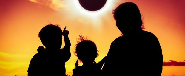 Image principale de l'article Une éclipse solaire le 10 juin 2021