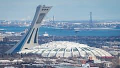 Baseball à Montréal: le Stade olympique tire sur la couverture