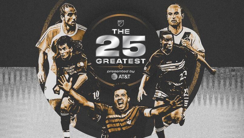 La MLS célèbre les 25 plus grandes vedettes de son histoire