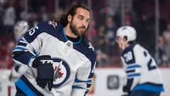 Mathieu Perreault surpris de la situation