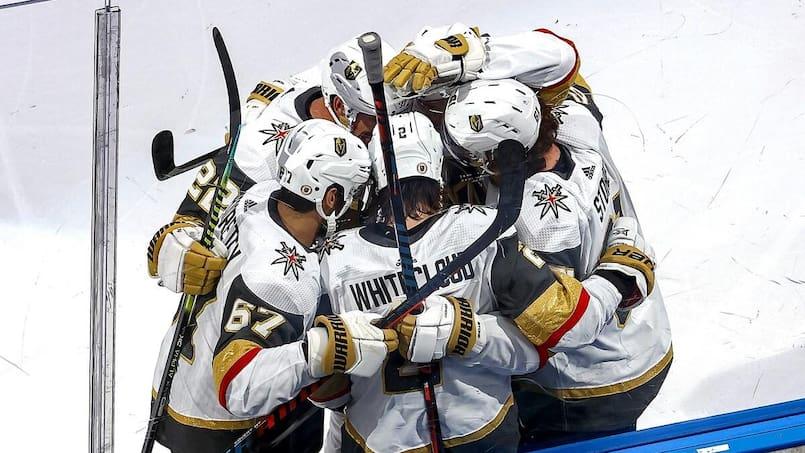 Les Golden Knights font le même coup aux Canucks
