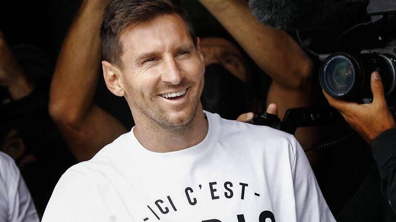 Lionel Messi débarque au PSG