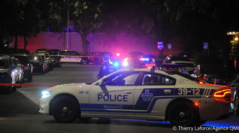 Saint-Léonard: un homme de 18 ans blessé par balle au bas du corps
