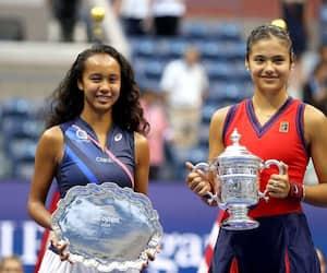 Leylah Annie Fernandez et Emma Raducanu