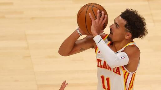 Trae Young est en feu pour les Hawks