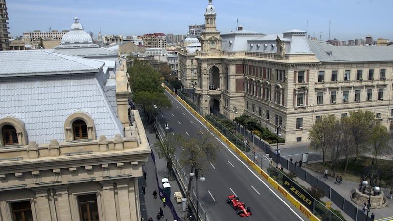 F1: le Grand Prix d'Azerbaïdjan reporté à son tour