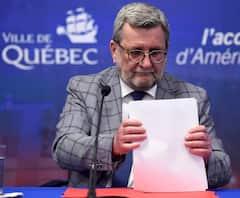 Mairie de Québec: Régis Labeaume quitte la vie politique