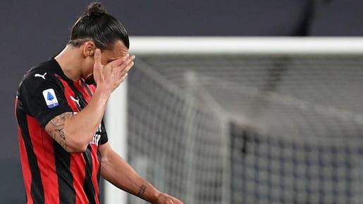 Zlatan Ibrahimovic se blesse à 5 semaines de l'Euro